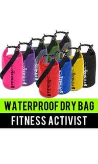 Brand new waterproof sports bag in assorted colors free normal mail postage
