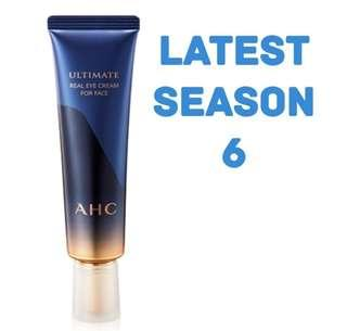 Latest!  AHC The Ultimate Real Eye Cream for Face - Season 6 (Authentic)