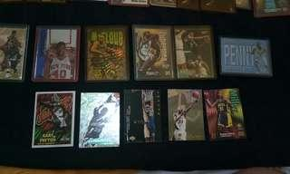 Assorted nba cards authentic 300 for all