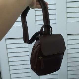 🚚 Hidesign真皮側背後背包