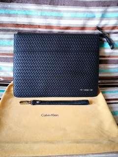CALVIN KLEIN leather clutch - Clearance!