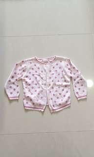 Maggie & Zoe baby pink jacket 24months