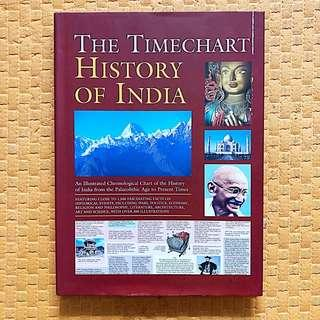 The Timechart History of India