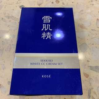 Sekkisei White CC cream set 01