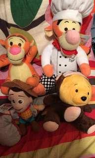 Disney Pooh Pooh and 跳跳虎