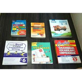 English Assessment books for primary 3-6