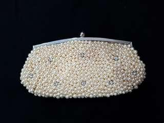 BN Pearl and diamond evening clutch!