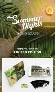 WTS TWICE Summer Nights Monograph Photocard