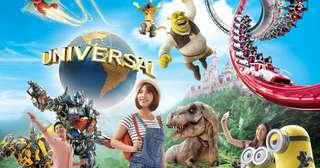 🚚 Universal Studios Singapore (express child) (USS) (OPEN DATE TICKETS)