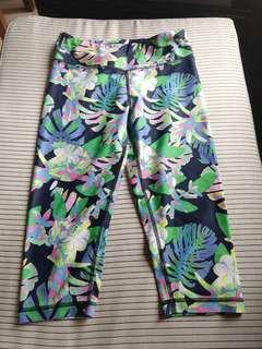 Titika yoga pants leggings 瑜伽運動褲 花柄 colourful pattern