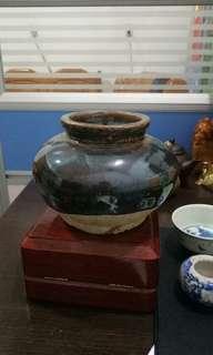 🚚 宋代醬釉缶(海撈品)