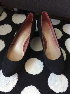 Black Platform Shoes (Worn once)