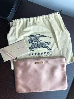 Brand new Burberry pink pouch