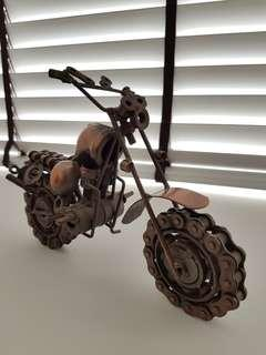 Metal and Bolts Motorbike Model