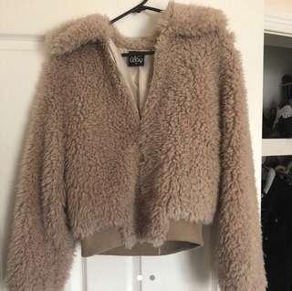 Princess Polly teddy jacket