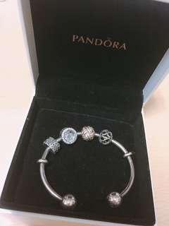 Pandora潘朵拉手環 手飾 銀飾 串珠