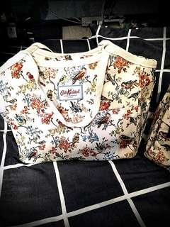 Cath Kidston London. The Blossom Birds. Fully coated EZ clean