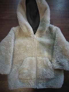 Jacket bulu uniqlo for baby