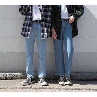 🚚 淺藍牛仔褲 34腰 XL