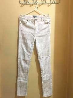 Ware Denim High Waisted Snake Print Pants