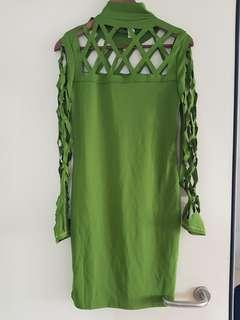 Green dress bodycon