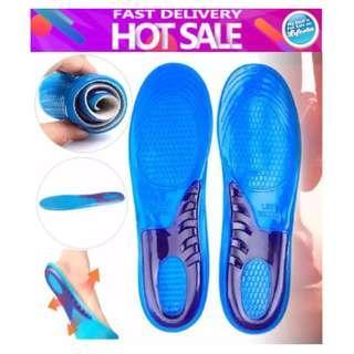 1 Pair Silicone Gel Insoles Man Women Orthopedic Massaging Shoe Inserts Shoe pad