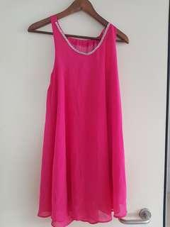 Pink dress or top with stones