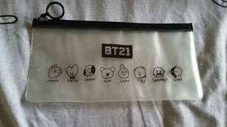 BT21 Pencil Case (INSTOCKS)