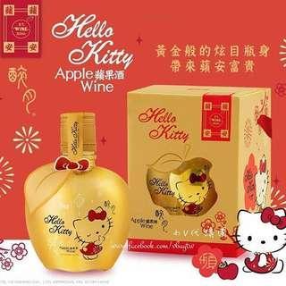 Hello Kitty 金色苹果酒