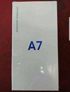 Samsung A7 2018 ram 6gb 128gb Murah segel sein