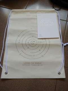 orbit items from loona fanclub 1st