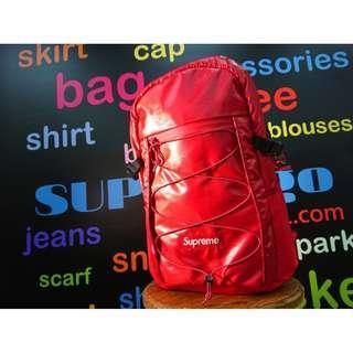 SUPREME FW17 RED BACKPACK 背包 背囊