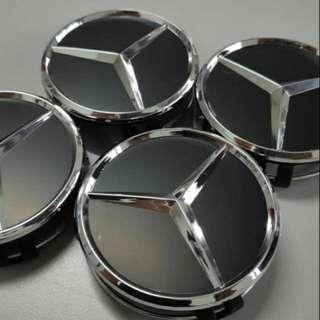 Mercedes AMG Black Edition hub caps