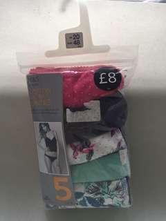 XXXXL Women's Panty UK20/EUR48