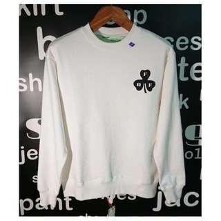 OFF-WHITE SPRAY CREWNECK Sweatshirts