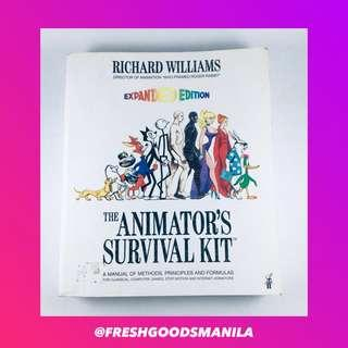 ART AND DESIGN The Animator's Survival Kit by Richard Williams Animation Book