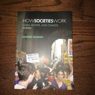 How Societies Work (5th edition)