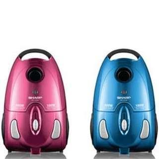 Vacuum cleaner sharp ec 8305 pink