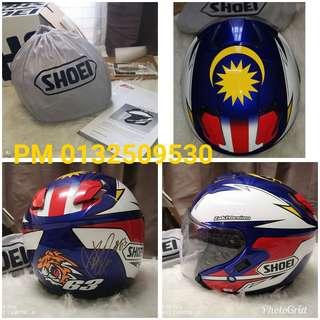 SHOEI J-Cruise ZULFAHMI LIMITED EDITION Helmet _ AUTHENTIC GENUINE