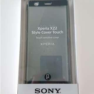 Sony Xperia XZ2 SCTH40 style cover touch