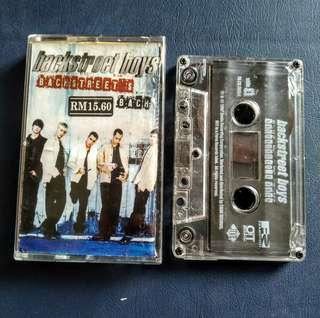 Cassete Backstreet Boys kaset