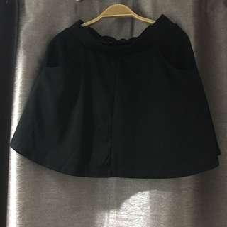Cotton On Black Skater Skirt