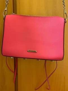 Rebecca minkoff cross body bag pink