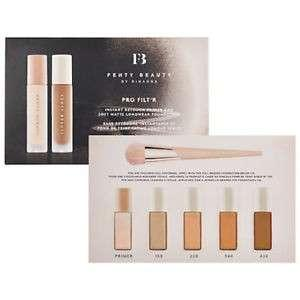 Fenty Beauty Pro Filt'r Instant Retouch Primer & Soft Matte Longwear Foundation samples