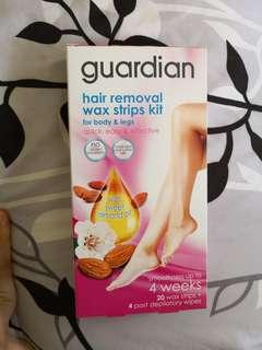 hair removal wax strips
