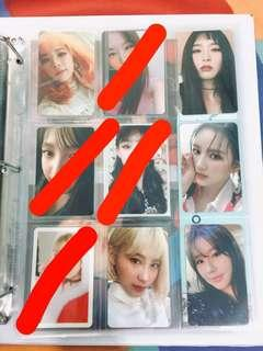 [wts] girl group photocards
