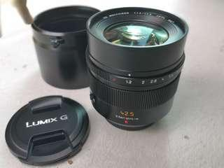 Panasonic Leica DG Nocticron 42.5mm F1.2 ASPH lens for Micro 4/3