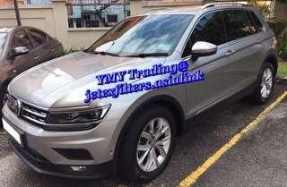 #jetexfilters_vw. #jetexfiltersasialink. VW Tiguan Single turbo with 150bhp & 250Nm upgraded Jetex Racing  Performance high flow drop in air filter with 1.14 kpa flow rate.