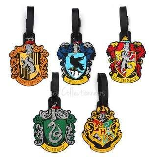 Harry Potter Luggage Tag Hogwarts Gryffindor Hufflepuff Slytherin Ravenclaw Bag tags
