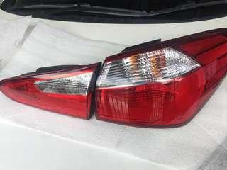 Tail Lights Kia KX